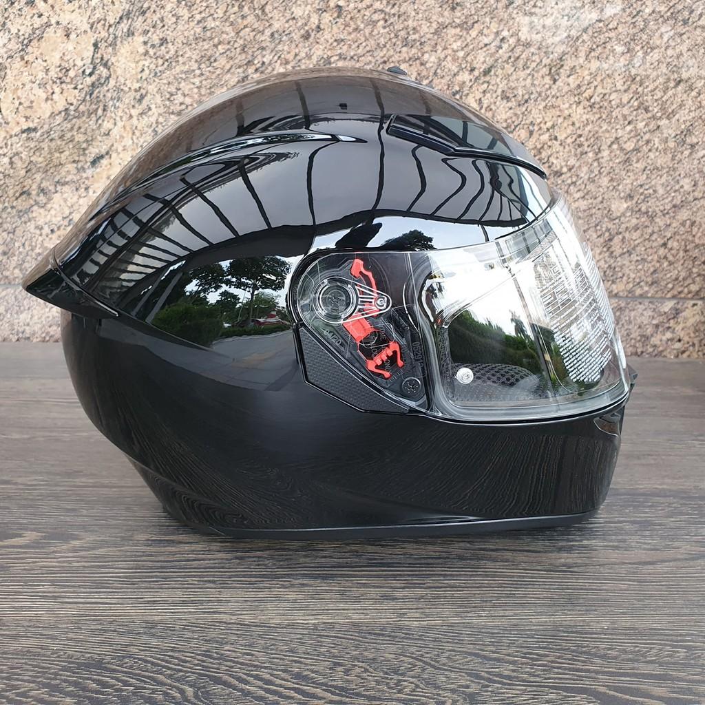 Nón K3-SV AGV ASIAN FIT BLACK