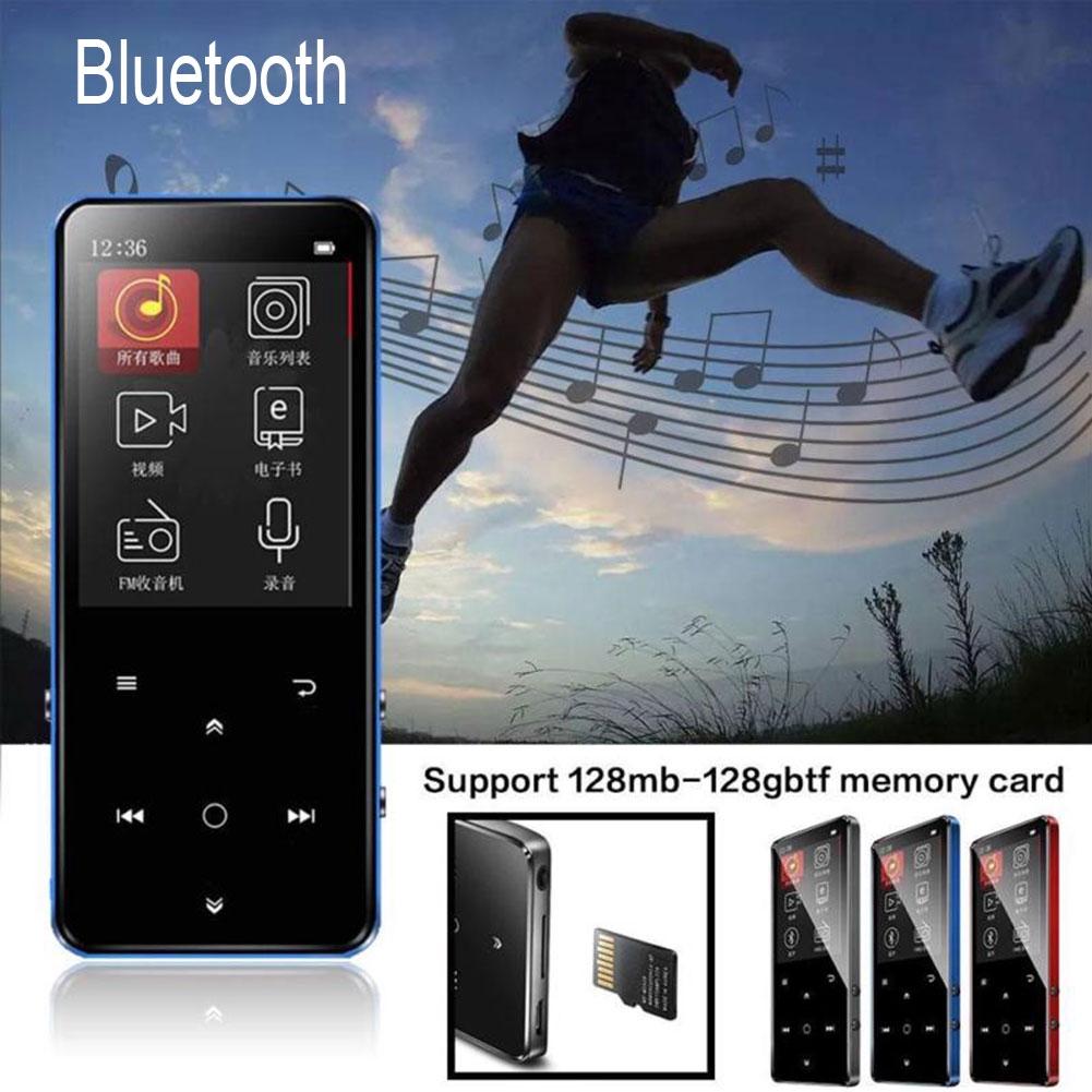 K11 Mini Ultra-thin HIFI Lossless Portable Bluetooth Music Player Digital Voice Recorder Ebook MP3