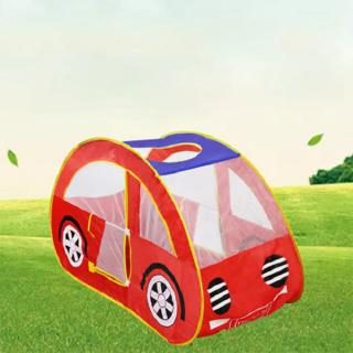 Portable Foldable Kids Car Tent Pretend Vehicle Kids Play Tent for Outdoor Indoor Child Playtime