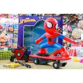 Hộp xe ván trượt điều khiển người nhện 701