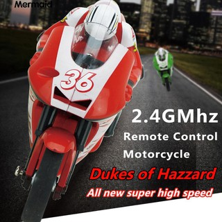 Mini RC Motorcycle High Speed Radio Controlled 2.4GHz Children Toy