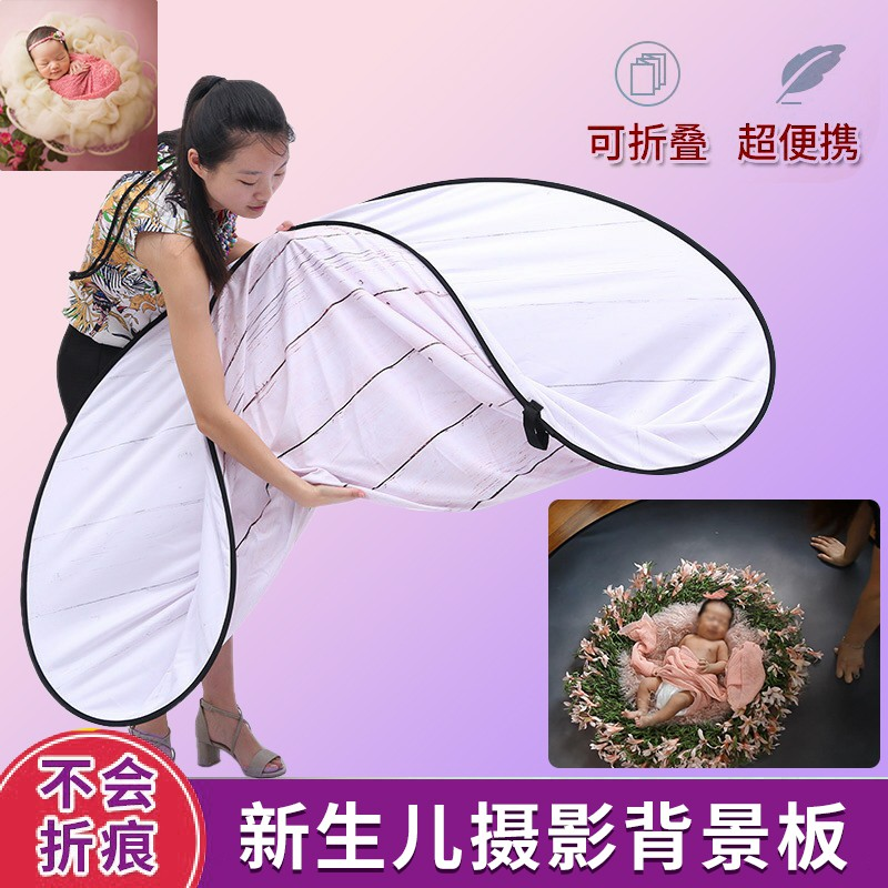 Overseas delivery newborn photography background photo background painting floor