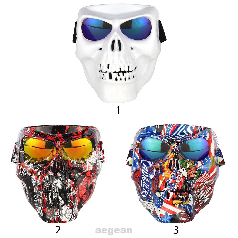Multifunction Cycling UV Protection Anti Fog Snowmobile Halloween Costume Safety Driving Motorcycle Goggles Cover