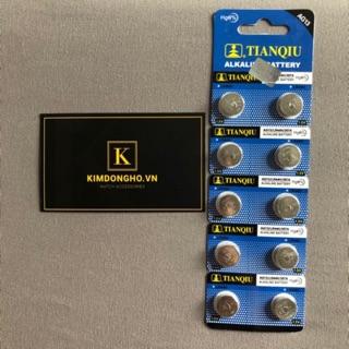 Kimdongho - Viên pin LR44, A76, AG13 - Pin cúc áo TIANQIU G13 vỉ 1 viên thumbnail