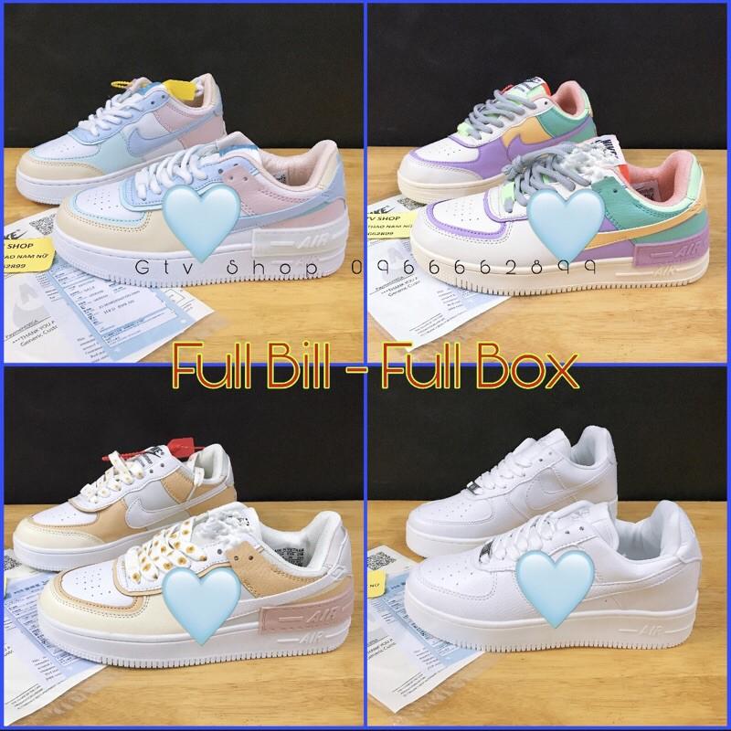 [FULL BOX + BILL + TẶNG LỌ TẨY] Giày thể thao sneaker nam nữ, AF1 shadow.   .