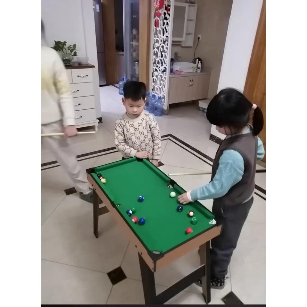 [Mã HELL0012 giảm 10 K đơn trên 500K]Bàn bida mini- Bàn bi A mini cỡ đại cho trẻ nhỏ - Đồ chơi cho bé yêu