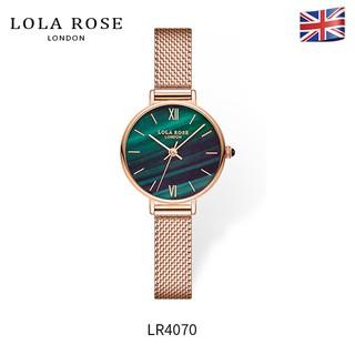 Đồng hồ nữ dây kim loại mặt tròn Lolarose đá bảo thạch chống nước cao cấp, thiết kế sang trọng, bảo hành 2 năm LR4070 thumbnail