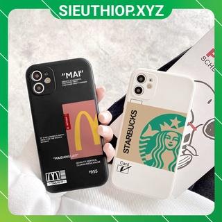 Ốp lưng iphone Fast Food vuông 5 5s 6 6plus 6s 6splus 7 7plus 8 8plus x xr xs 11 12 pro max plus promax vvv1 thumbnail