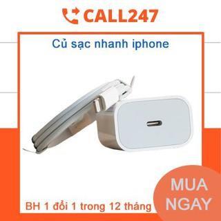 [Mã ELFLASH5 giảm 20K đơn 50K] [ BH 1 Đổi 1 ] Củ Sạc Nhanh cho Iphone PD 18W – Chính hãng nguyên Seal