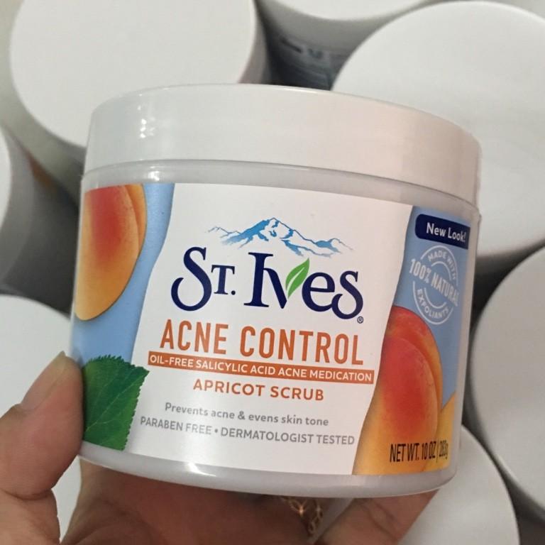 Kem tẩy tế bào chết toàn thân (mặt và body) ST.Ives Blemish Control Apricot Scrub - 2392815 , 58545962 , 322_58545962 , 150000 , Kem-tay-te-bao-chet-toan-than-mat-va-body-ST.Ives-Blemish-Control-Apricot-Scrub-322_58545962 , shopee.vn , Kem tẩy tế bào chết toàn thân (mặt và body) ST.Ives Blemish Control Apricot Scrub