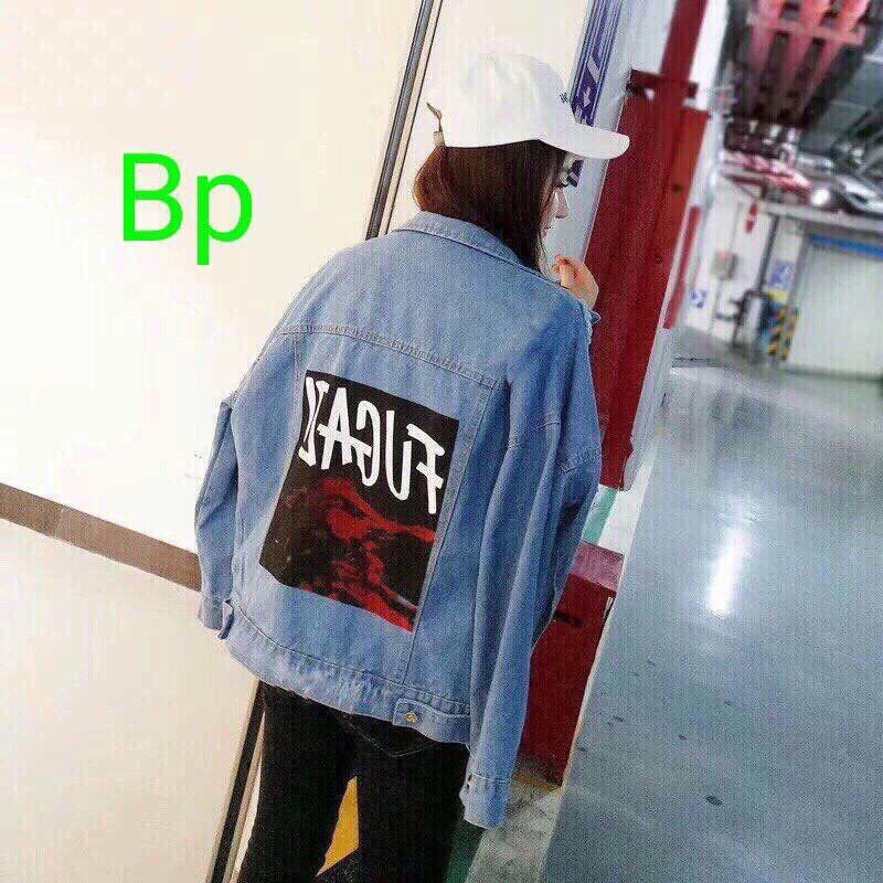 áo khoác jean nữ thời trang - 3514000 , 1262761702 , 322_1262761702 , 280000 , ao-khoac-jean-nu-thoi-trang-322_1262761702 , shopee.vn , áo khoác jean nữ thời trang