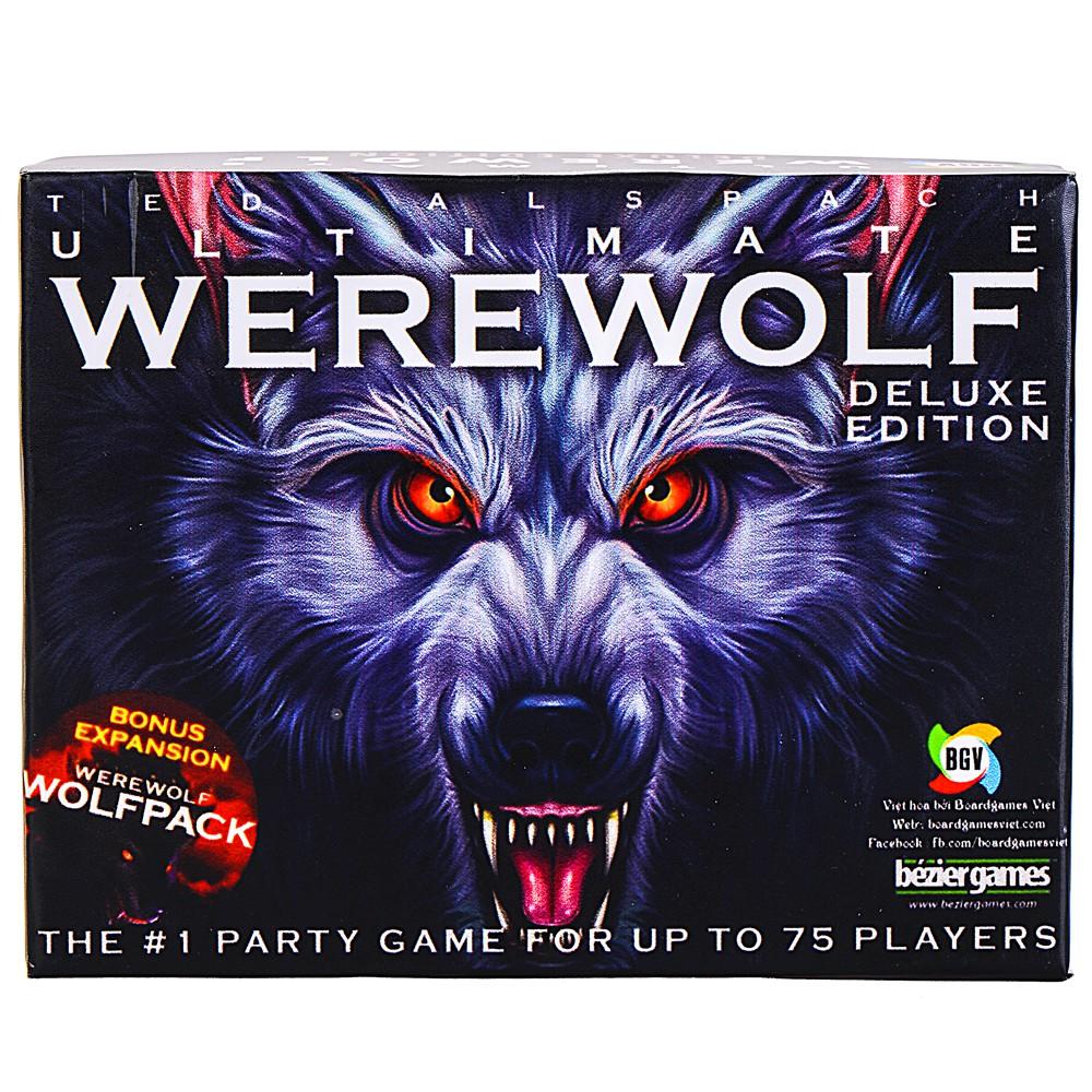 Bài Ma Sói-Ultimate Werewolf Deluxe 2014 (Giấy Cứng Cán Nhựa+Tiếng Việt)
