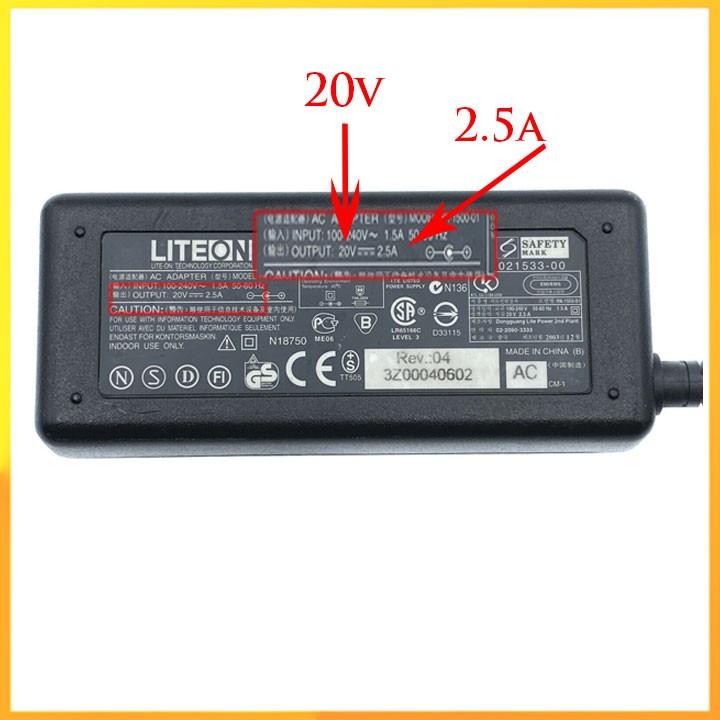 Bộ đổi nguồn Liteon 20v 2.5a