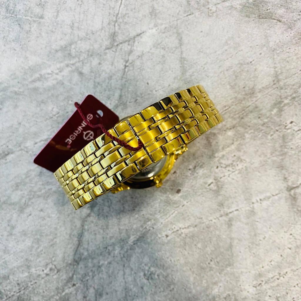 Đồng hồ Sunrise Nam chính hãng Nhật Bản M1223.SA.G.X - kính saphire chống trầy - bảo