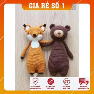 [Xả Hàng] Quà tặng cho bé – Set đôi bạn thân – Toys made by The Bunny