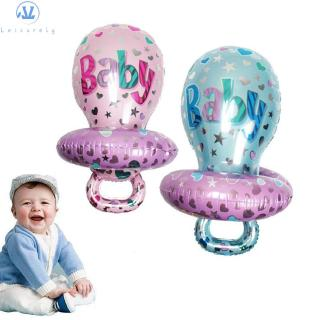 L1 Outdoor Play Home Decor Celebration Birthday Toy Pacifier Foil Balloons