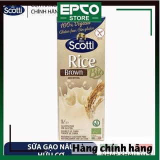 SỮA GẠO NÂU ĂN KIÊNG RISO SCOTTI (HỘP 1L) – BIO Brown Rice Milk