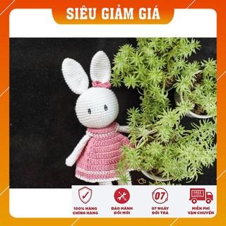[CHÍNH HÃNG] Thỏ Váy Hồng Điệu Đà – Quà tặng bé gái – Made By Bunny