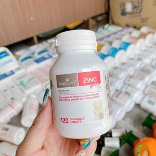 ZinC for kids bioisland 120 viên thumbnail