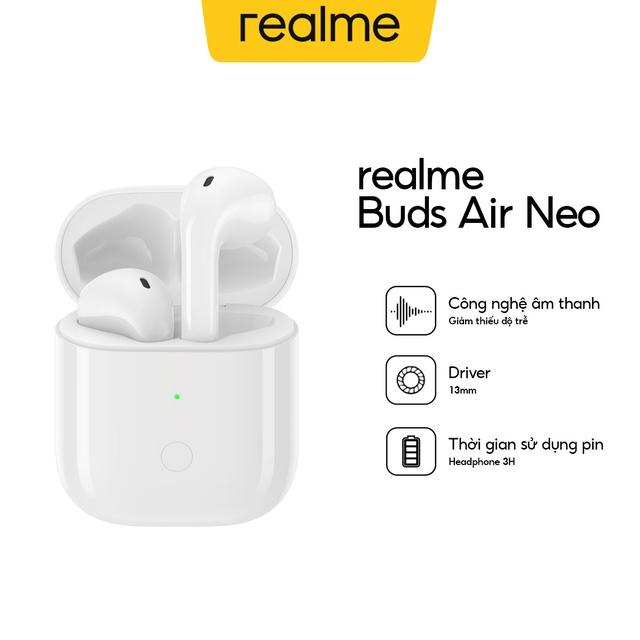 Tai Nghe Không Dây Realme Buds Air Neo - Hàng Chính