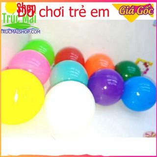 [Giá Xưởng] set 10 quả bóng nhựa Việt Nam 10 màu đồ chơi cho bé học tập phát triển kỹ năng cơ bản thumbnail