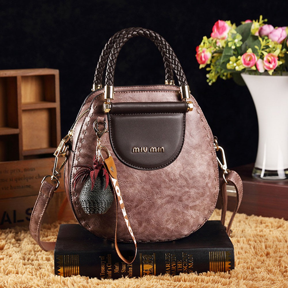 Túi đeo chéo Quảng Châu da cao cấp phong cách Châu Âu - RiBi Shop