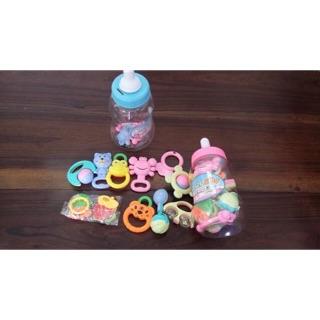 🍼Bình sữa xúc xắc Baby Toys 9 món cho bé