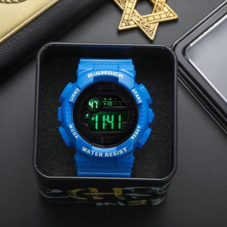 Đồng hồ điện tử nam thể thao chính hãng R SHOCK SIZE 44MM