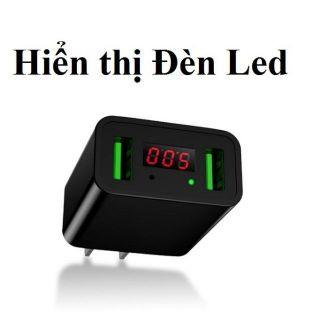 Củ sạc nhanh đèn led 2 cổng USB đầu cắm - 23075084 , 1303727036 , 322_1303727036 , 97000 , Cu-sac-nhanh-den-led-2-cong-USB-dau-cam-322_1303727036 , shopee.vn , Củ sạc nhanh đèn led 2 cổng USB đầu cắm