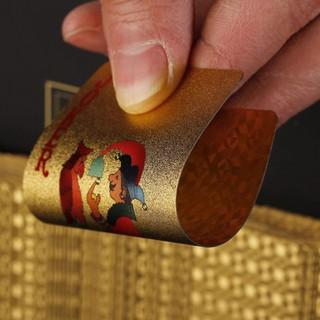 Bộ bài nhựa phủ nano gold không thấm nước