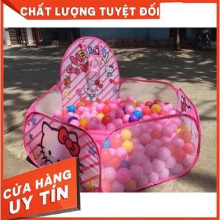 [TRỢ GIÁ] Nhà Bóng Lều Bóng Tặng Kèm 100 Quả Bóng Nhựa Cho Bé
