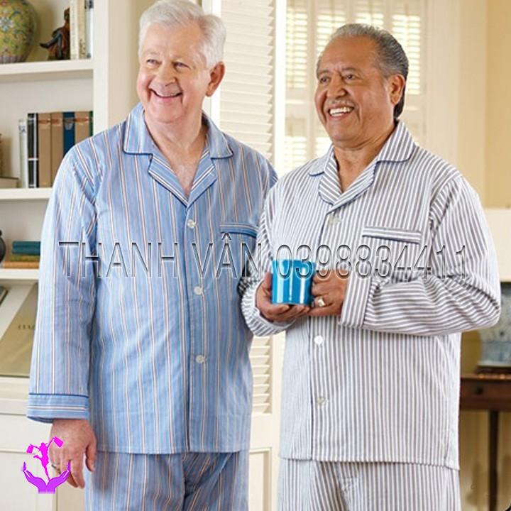 Đồ bộ quần dài, tay dài cho nam trung niên giá tốt