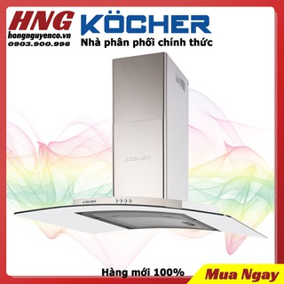 Máy Hút Mùi cao cấp Kocher K-8990 – Hàng chính hãng bảo hành 3 năm