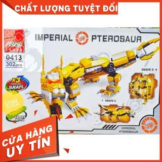 [HOT]Lego Feizhi 0413 Lắp Ráp Rồng Hoàng Gia – Imperial Pterosaur ( 302 Mảnh )-Hàng có sẵn