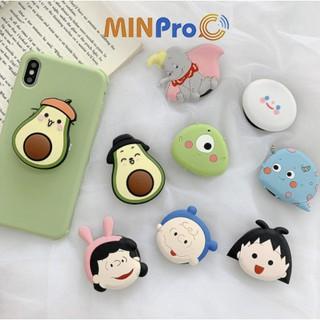 Giá đỡ điện thoại cao cấp,pop điện thoại nhiều hình đáng yêu - MINPRO thumbnail