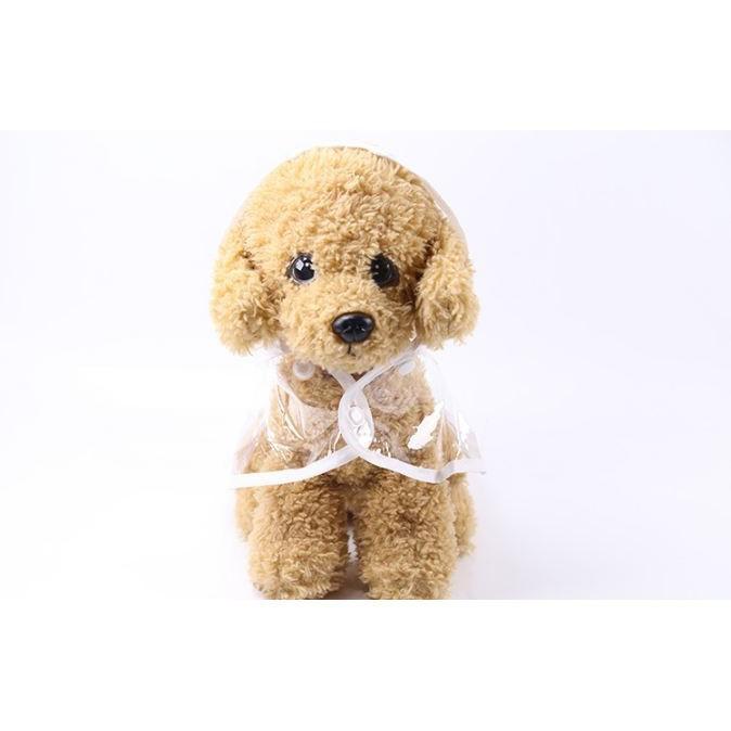 [HẤP DẪN] Áo mưa cho chó mèo trong suốt viền trắng - 14428880 , 2117097482 , 322_2117097482 , 117000 , HAP-DAN-Ao-mua-cho-cho-meo-trong-suot-vien-trang-322_2117097482 , shopee.vn , [HẤP DẪN] Áo mưa cho chó mèo trong suốt viền trắng