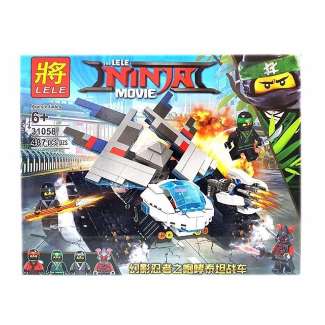 lego ninja movie 31058- Xe tăng băng giá - 9970654 , 687120773 , 322_687120773 , 280000 , lego-ninja-movie-31058-Xe-tang-bang-gia-322_687120773 , shopee.vn , lego ninja movie 31058- Xe tăng băng giá