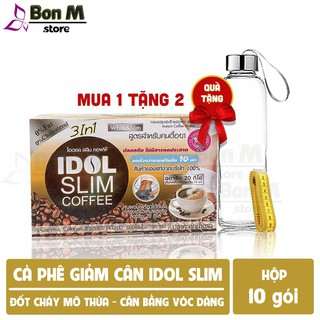 [Mã SRJULY1215 giảm 20K đơn 50K] Cafe Giảm Cân IDOL SLIM COFFEE 3 in 1 chính hãng. thumbnail