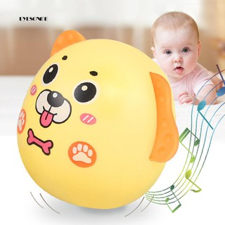 ♕Cute Cartoon Dog Tumbler Doll Baby Nodding Rattle Toy Kids Children Xmas Gift