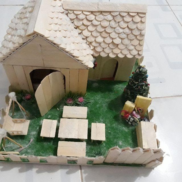 Nhà que kem 1 tầng handmade