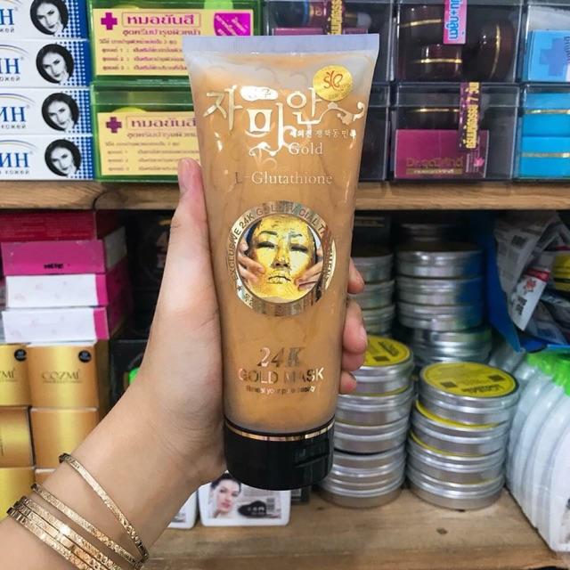 Mặt nạ vàng 24K Gold Mask (L- Glutathione) Hàn Quốc