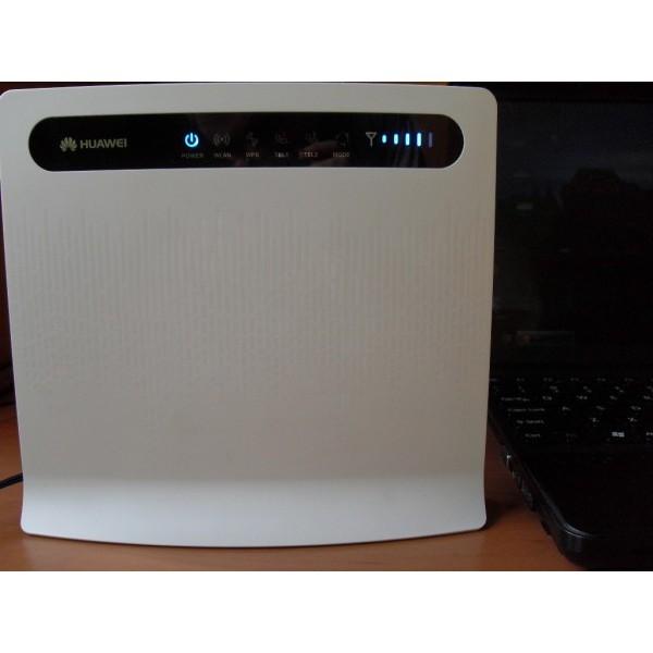 Modem Wifi Huawei B593 dùng trên xe khách – 3G 4G LTE, Tốc độ 4G  100Mbps,Wifi 300Mbps