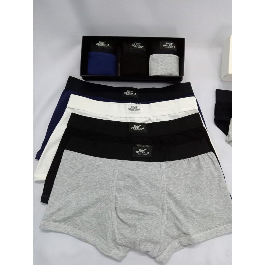 Combo 4 cái quần lót nam David Beakham - Hàng chuẩn