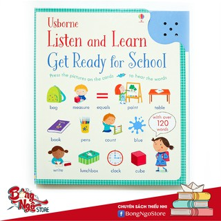 ĐỒ CHƠI ÂM THANH TIẾNG ANH LISTEN AND LEARN GET READY FOR SCHOOL