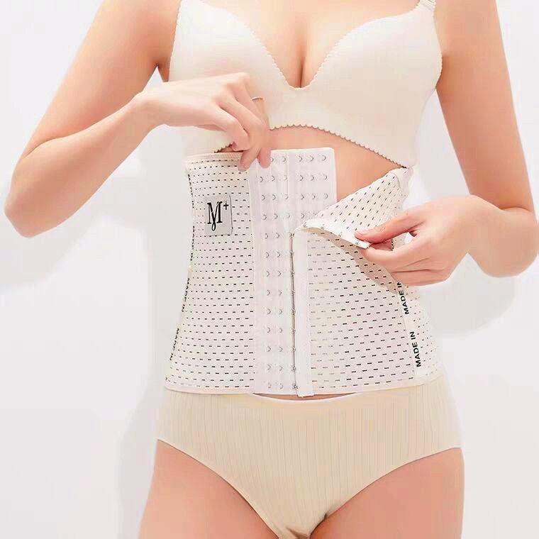 Đai nịt bụng định hình  FREESHIP  Đai Nịch Bụng Giảm eo thon có thể kết hợp váy body. N9999