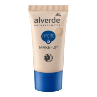Kem nền trang điêm Alverde Hydro Make-up 20 Hazel, 30ml ( hàng xách tay Đức) thumbnail