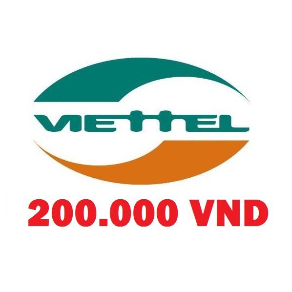 Thẻ cào Viettel 200K , thẻ nạp Viettel , card điện thoại Viettel , thẻ Viettel ,nạp tiền Viettel ,ca - 2389727 , 1050005902 , 322_1050005902 , 200000 , The-cao-Viettel-200K-the-nap-Viettel-card-dien-thoai-Viettel-the-Viettel-nap-tien-Viettel-ca-322_1050005902 , shopee.vn , Thẻ cào Viettel 200K , thẻ nạp Viettel , card điện thoại Viettel , thẻ Viettel