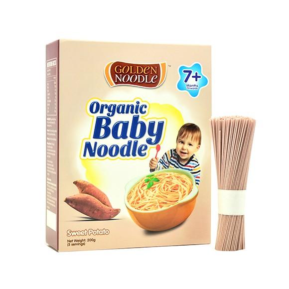 Mì hữu cơ vị khoai lang Golden Noodle 200g