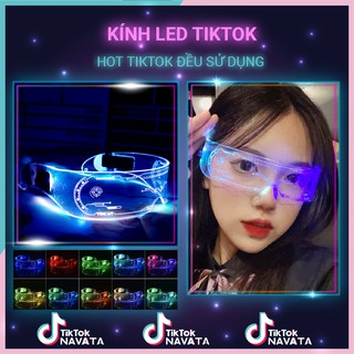 Kính Led TikTok Kính phát sáng 3D nhấp nháy, hỗ trợ quay video TikTok triệu views cực ảo thumbnail