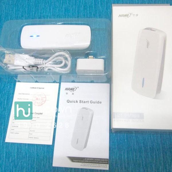 [🚛XẢ KHO] Bộ phát wifi cầm tay 3 trong 1 Hame A16 giá cực rẻ +Tặng kèm giá đỡ điện thoại thông minh s021